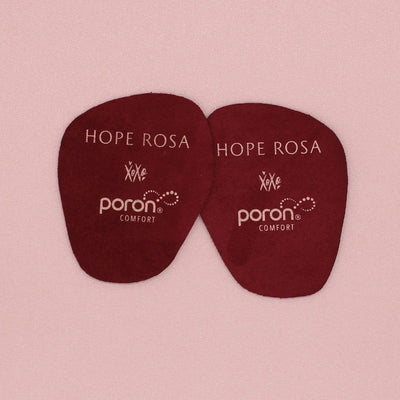 HOPE ROSA INSOLES 2-Pack Sole Spots - Burgundy