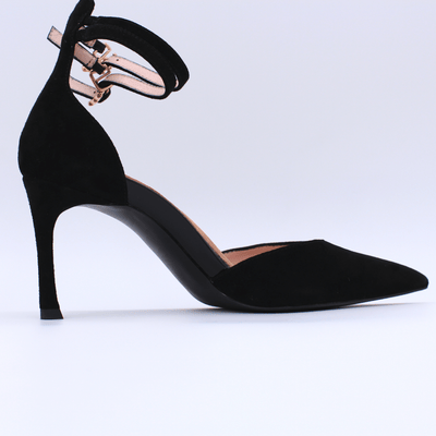 HOPE ROSA Pumps BOND GIRL - BLACK SUEDE