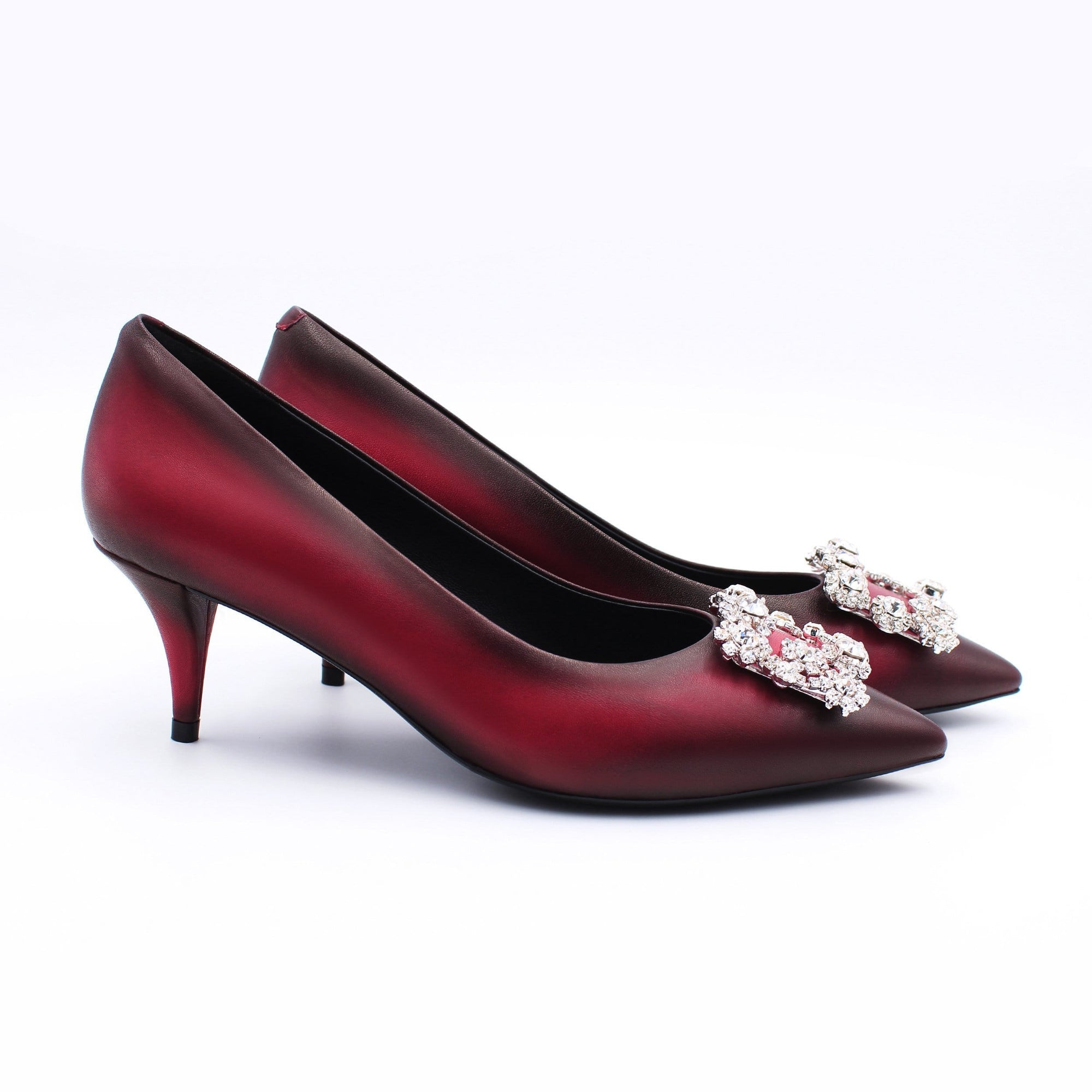 HOPE ROSA Pumps MARYLYN PUMP HAND-PAINTED FUSCHIA