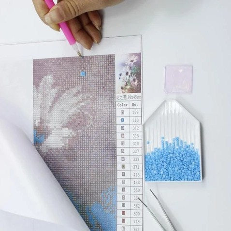 Diamond Painting Improves Motor Skills