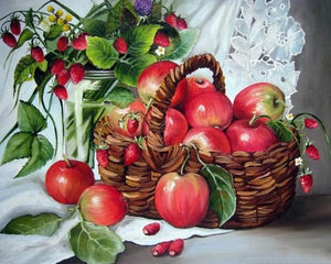 Apple Basket Paint by Diamonds