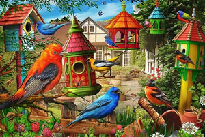 Birds Colony Diamond Painting Kit