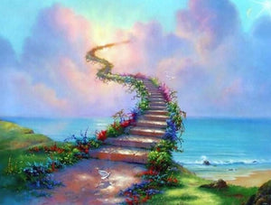 Bridge Between Heaven & Earth Diamond Painting Kit
