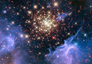 Burst of Celestial Fireworks Diamond Painting