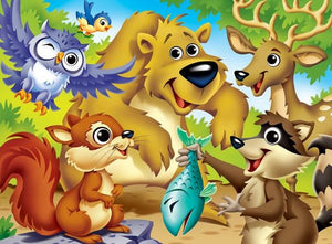 Cartoonist Animals Diamond Painting