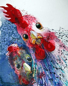 Chicken Art Diamond Painting Kit