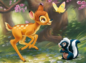Disney Bambi & Squirrel Diamond Painting Kit