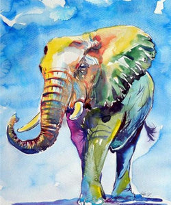 Elephant art Diamond Painting Kit