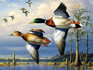 Flying Ducks Diamond Painting