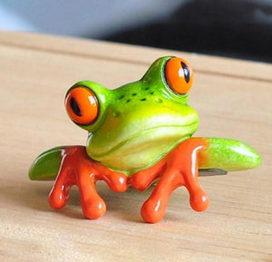 Funny Frog Paint by Diamonds