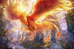 Furious Phoenix Diamond Painting Kit