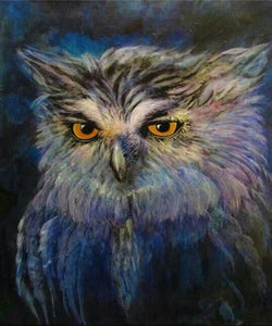 Great Horned Owl Diamond Painting Kit