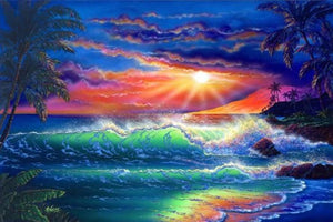 Island Paradise Diamond Painting Kit