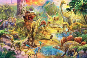 Jurassic Land Diamond Painting Kit