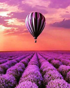 Lavender Fields Paint by Diamonds
