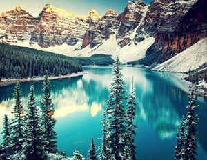 Moraine Lake Diamond Painting Kit