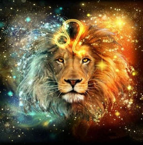 Mystic Lion Diamond Painting Kit