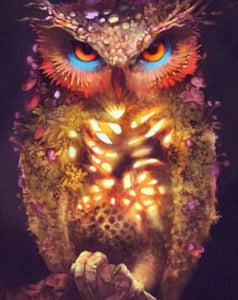 Owl's Magic Paint by Diamonds