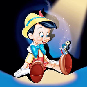 Pinocchio Paint by Diamonds