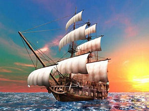 Ship DIY Diamond Painting