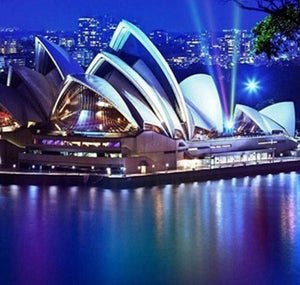 Sydney Opera House Diamond Painting Kit