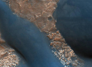 The Dunes in Mars' Wirtz Crater Diamond Painting