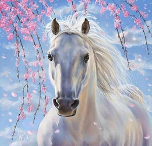 White Horse Painting Kit