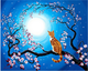 Cats on Trees DIY Diamond Paintings
