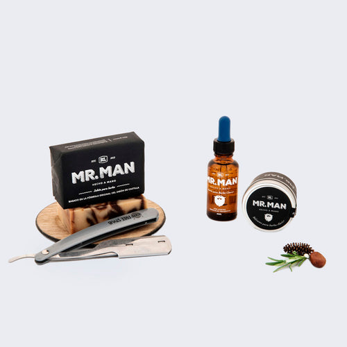 Kit Natural para Barba Mr. Man
