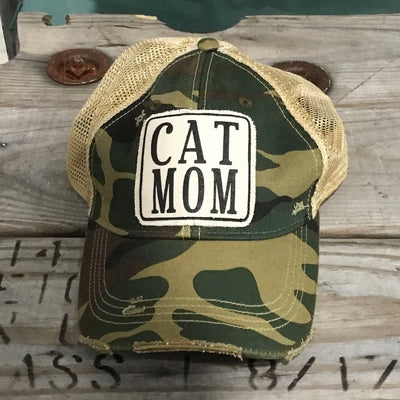 Cat Mom Trucker Hat