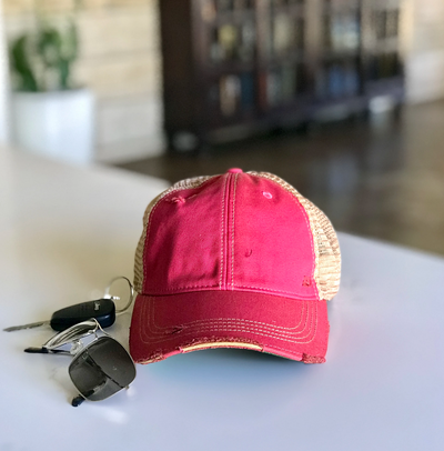 Lucky Girl Trucker Hat