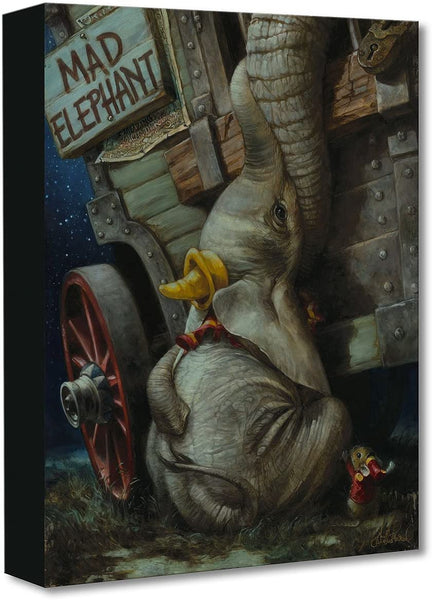 Disney Fine Art Baby of Mine by Heather Edwards Treasures on Canvas Dumbo 16 Inches x 12 Inches Reproduction Giclee on Gallery-Wrapped Canvas Wall Art