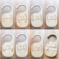 The LoLueMade Company | Premium Wood Baby Closet Dividers, Set of 7: Baby Closet Organizers, Baby Nursery Decor, Baby Clothes Organizers, Baby Shower Gift - Made of Genuine Wood