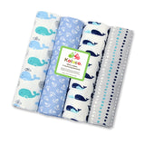 4Pcs/Lot Baby Blankets Newborn Muslin Diapers 100% Cotton Baby Swaddle Blanket for Newborns Photography Kids Muslin Swaddle Wrap