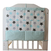 Cartoon Rooms Nursery Hanging Storage Bag Baby Cot Bed Crib Organizer Toy Diaper Pocket for Newborn Crib Bedding Set 58*60 cm