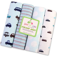 4 Pcs/Lot Baby Bed Sheet 100% Cotton 76*76cmSize Infant Cot Crib Sheet Girl Boy Baby Bedding Set Newborns Receiving Blanket