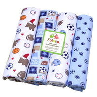 4PCS newborn baby bed sheet bedding set 102*76cm for newborn crib sheets cot linen 100% cotton printing baby blanket New