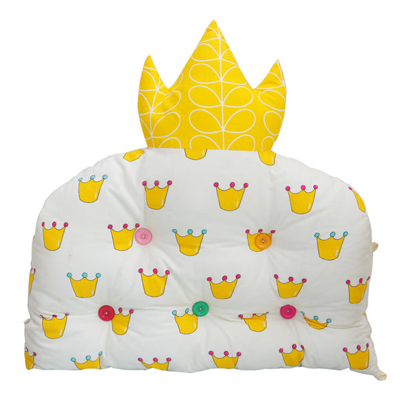 1 PC Crown-shaped Baby Bed Bumper Cotton Cot Bumper Crib Back Cushion Kids Bedding Bumper For Room Decor Infant Cot Bedding Set