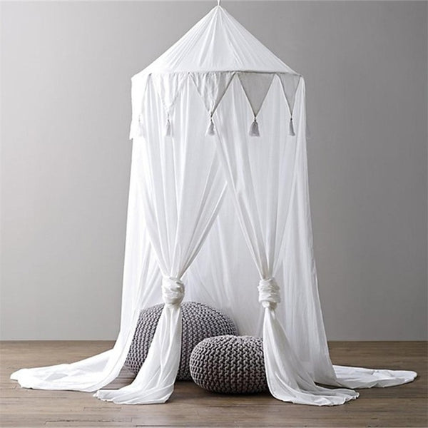 Kidlove Baby Bed Canopy Bedcover Mosquito Crib Netting Curtain Bedding Round Dome Tent Cotton