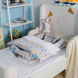 Newborn Baby Bedding Quilt Pillow Mattresses Sheets Bumpers Cartoon Home Baby Travel Bed Blanket Cradle Bed Throw Bed Cover