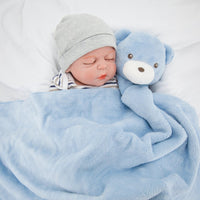 New Soft Baby Blankets Newborn Infant Baby Boy Girl Swaddle Baby Sleeping Wrap Blanket Photography Prop for Boys Girls Kid 0-12M
