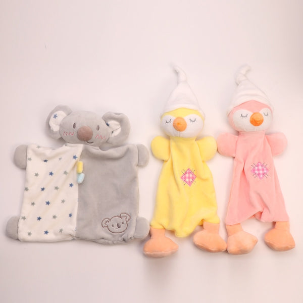 Soothing blanket soft plush blanket doll towel can be baby soothing towel plush toy doll can enter the bite to comfort the baby