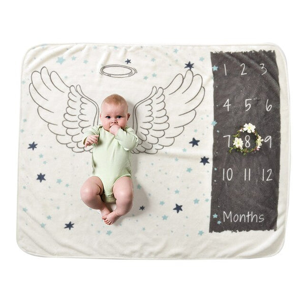 Baby Blanket Infant Kids Soft Warm Swaddling Bath Towel Lovely Newborn Baby Bedding Photograp Props new