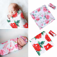 Summer Spot Coated Printing Bag Excellent Cotton for Newborn Baby with Two Pieces of baby Cotton Square Blanket Hair Belt