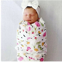 100% cotton muslin baby blanket swaddle wrap for newborn better soft babies blankets bedding swaddlling bath towel 120*120cm
