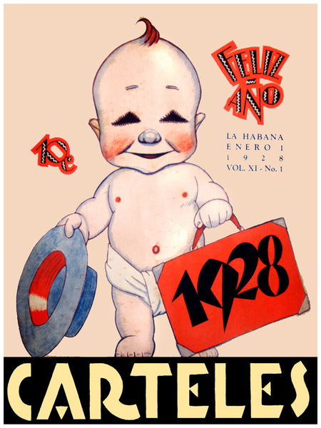 "11x14""poster on CANVAS decor.Room art.Creepy baby from 1928.6763"