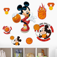 Cartoon Mickey Baby Room Sticker Bedroom Decoration Removable Vinyl Decals