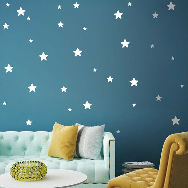 [EL] Art Wall Decoration Size Bedroom Baby Sticker Vinyl Applique Various Stars