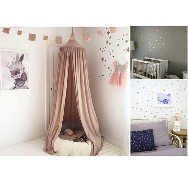 110 Pcs 3 Size Stars Removable Wall Sticker Kids Baby Room Decor Art Mural Decal