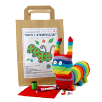 Sock Creatures Caterpillar Kit